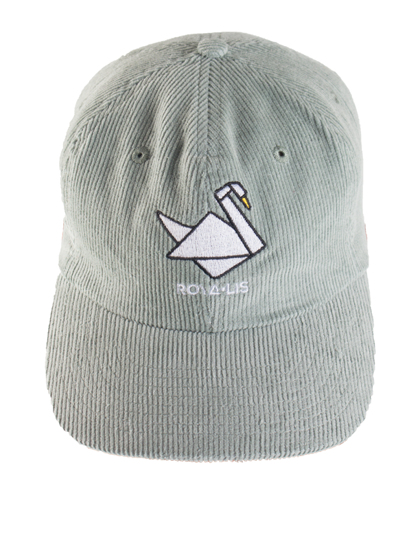 Corduroy Mint Dad Hat