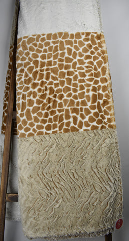 Frost Sand, Giraffe Natural/Tan, Frosted Zebra Camel - Extreme Strip
