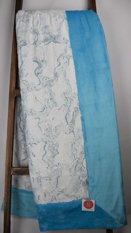 Frosted Hide Maui / Solid Turquoise - Extreme Snuggler
