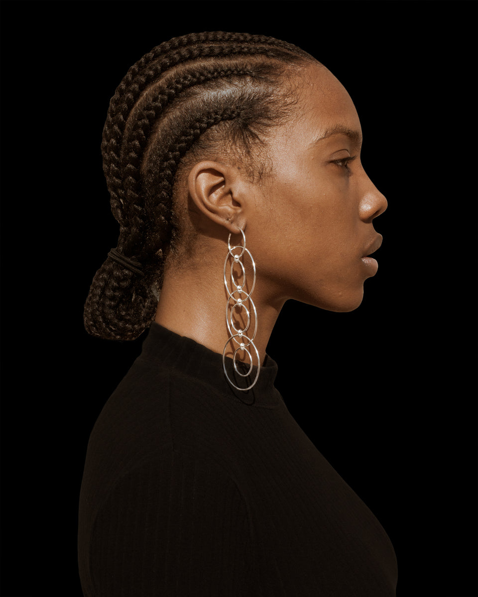 CHAIN EARRINGS - Jewelry | THE RIIA