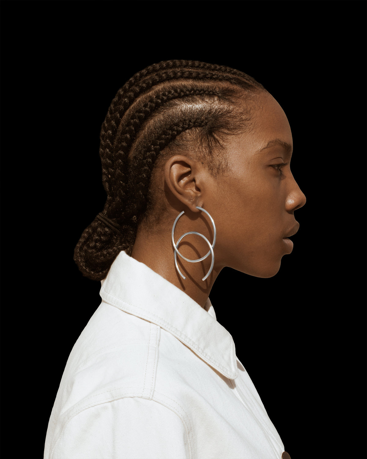 Half Hoops - Jewelry | THE RIIA