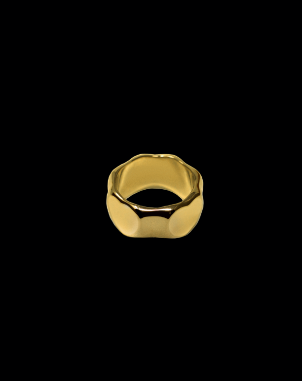 Golden Heart Signet - Jewelry | THE RIIA
