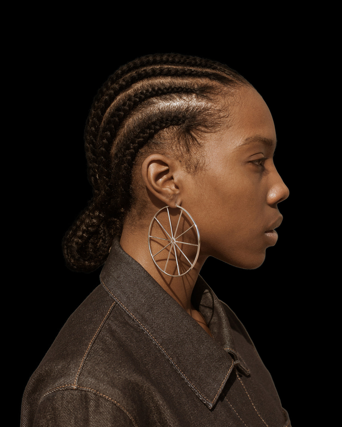Mega Wheel Earrings - Jewelry | THE RIIA