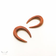 Saba wood 6mm 2g plugs gauges BC129-06