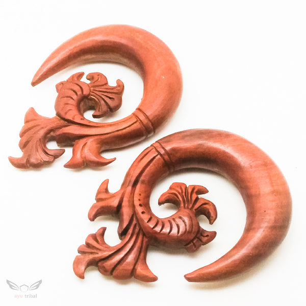 16mm gauge spiral ear plugs BC132-16