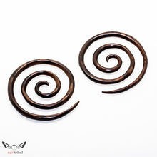 2 gauge triple spiral taper plugs ba040-06