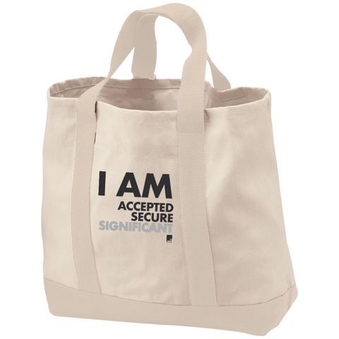 I am Significant Cotton Twill Bag