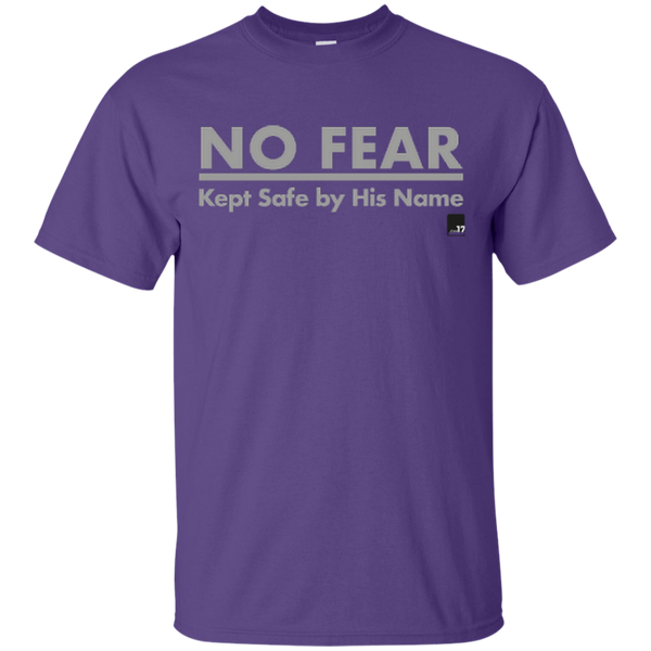 No Fear Purple Athletic Short Sleeve T