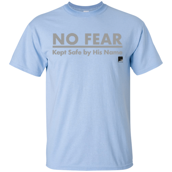 No Fear Light Blue Athletic Short Sleeve T