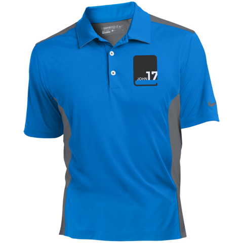 John17 Nike Golf Blue/Dark Grey Dri-Fit