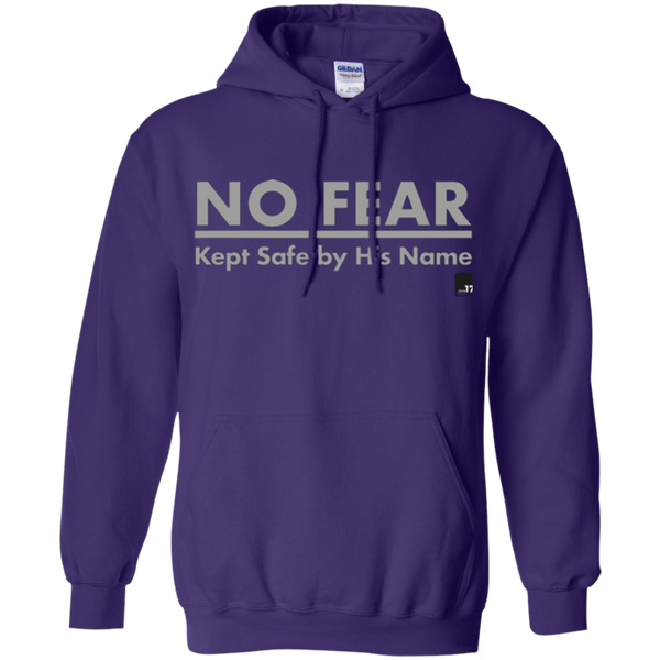 No Fear Purple Pullover Hoodie