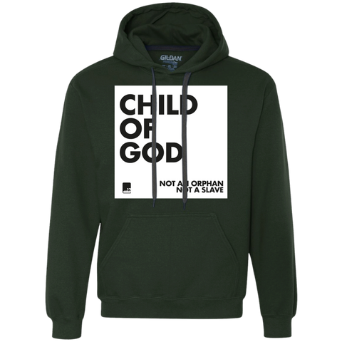 Child of God Forest Green Heavy Fleece Hoodie