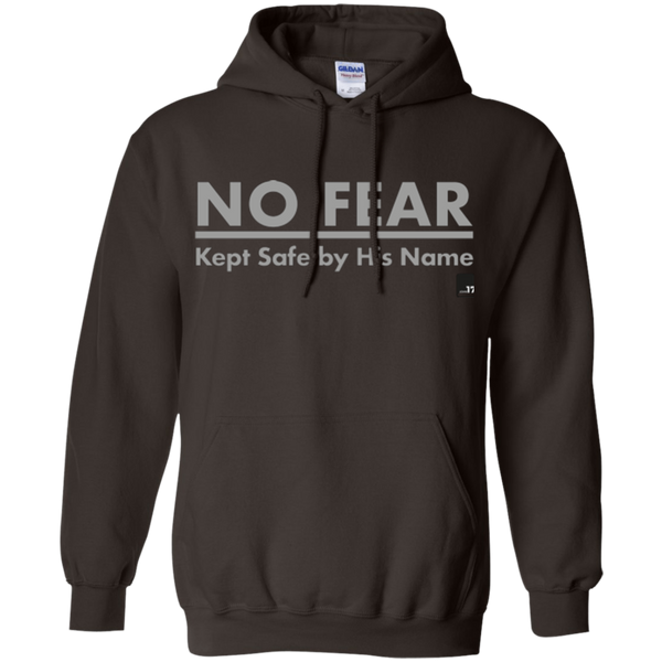 No Fear Dark Chocolate Pullover Hoodie