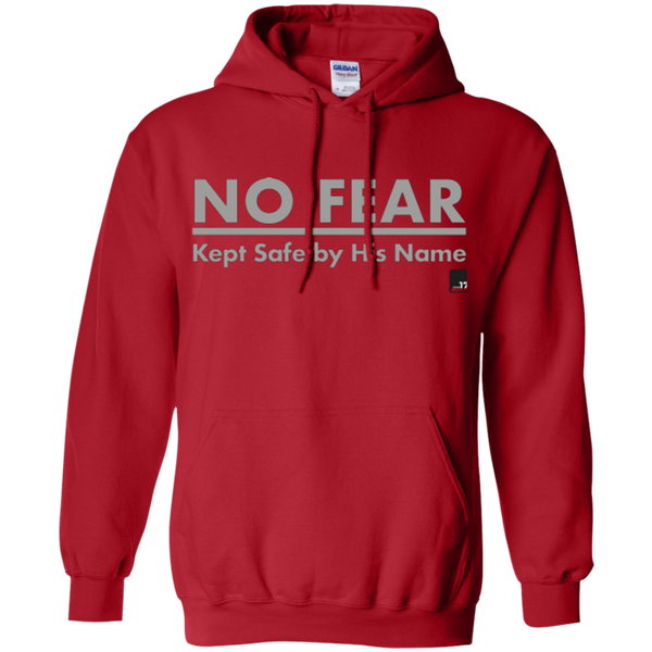 No Fear Red Pullover Hoodie