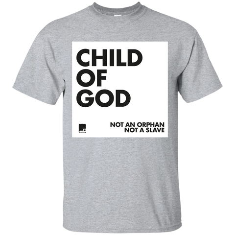 Child of God Sport Grey Athletic Short Sleeve T
