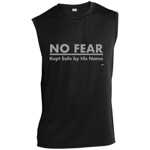 No Fear Black Muscle Dri-Fit Tech sleeveless
