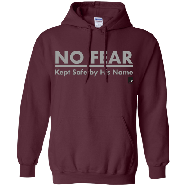 No Fear Maroon Pullover Hoodie