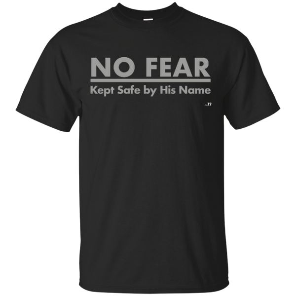 No Fear Black Athletic Short Sleeve T