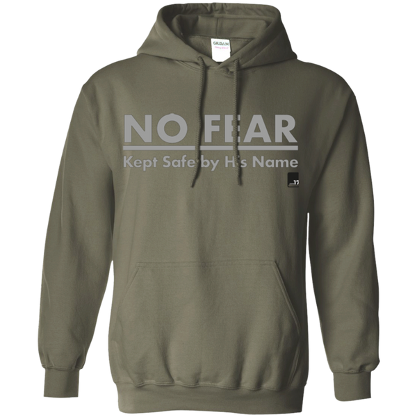 No Fear Military Green Pullover Hoodie