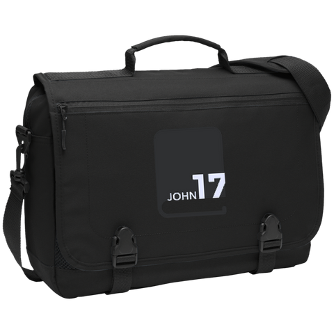 John17 Black Laptop Bag
