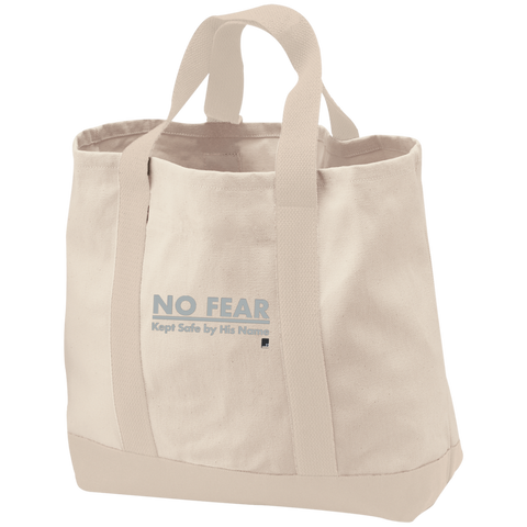 No Fear Cotton Twill Bag