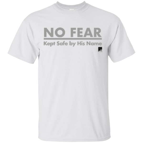 No Fear White Athletic Short Sleeve T