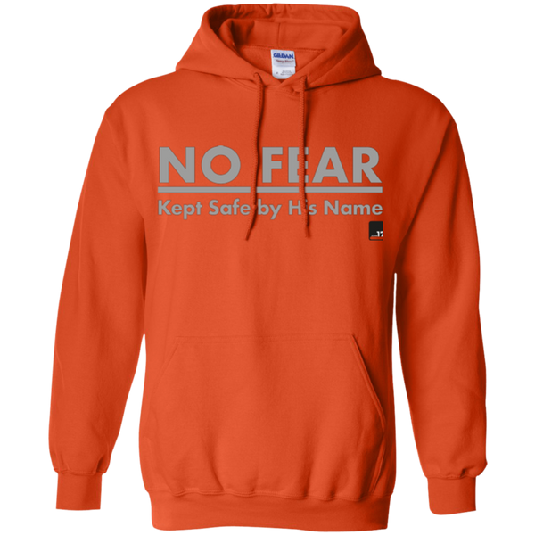 No Fear Orange Pullover Hoodie