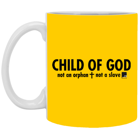 Child of God Design 2 Athletic Gold Mug