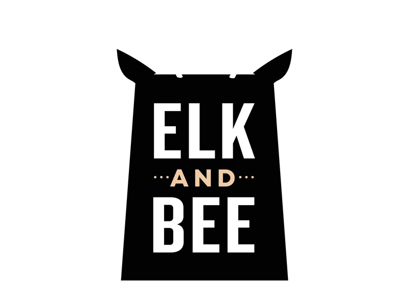elk and bee logo