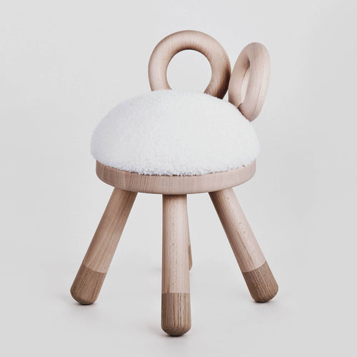 Elements Optimal Sheep Chair angle view.