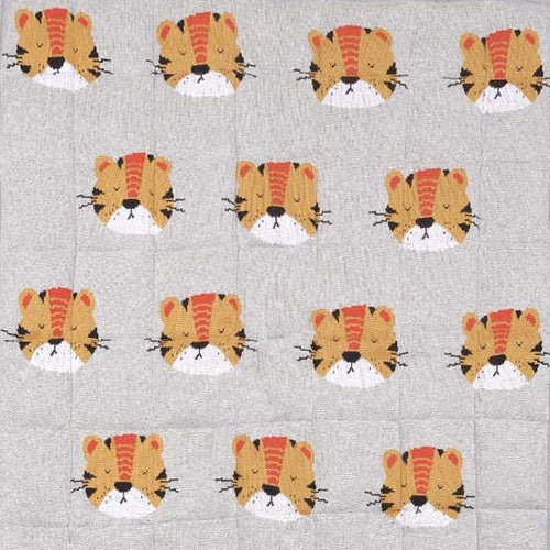 Tiger quilt and tiger cushion