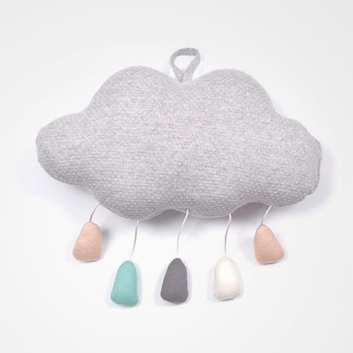 Indus Design Cloud Mobile Grey. Perfect for the nursery or as a gift.
