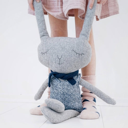 Modern and stylish, Lloyd rabbit is a delightful soft toy that will be treasured by your little one.