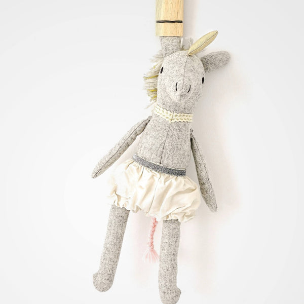 Handcrafted Alice the Unicorn soft toy
