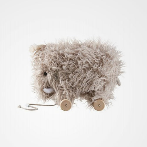 Beautiful pull toy from Swedish brand Kid's Concept - the mammoth pull along.
