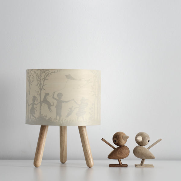 Micky & Stevie Kids Lamp with light off - In the woods