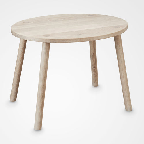Kids Nofred Mouse play table - oak.