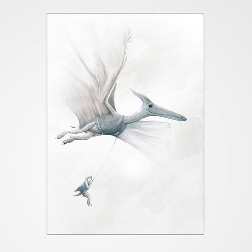 Dream Of Dinosaurs Print - Pterodactyl