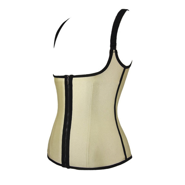 Clip and Zip Latex Colombian Body Shaper #890074