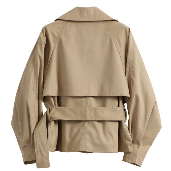 Jonnie Cropped Trench - Club Menus