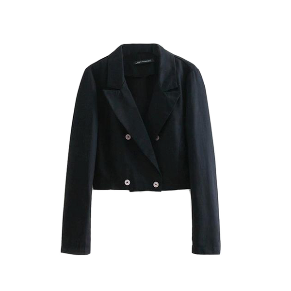 Cropped Blazer - Club Menus