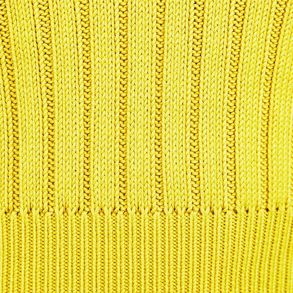 Lemon Knit Tank - Club Menus