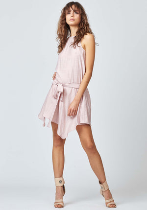 Pocket Watch Pink Party Dress by Three of Something Sydney Australia