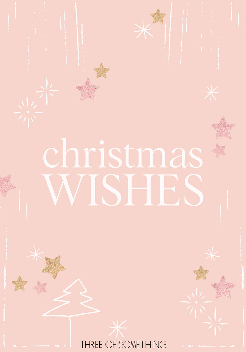 Christmas Wishes Gift Card