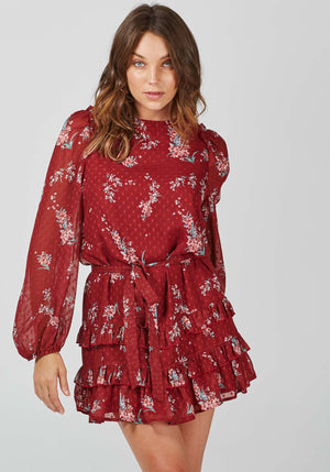Celestial Dawn Floral Dress by Three of Something Australia