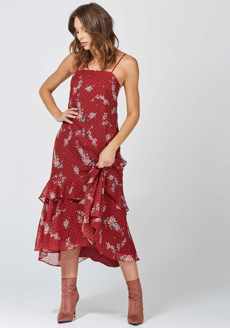 Celestial Freya Floral Dress by Three of Something Sydney Australia