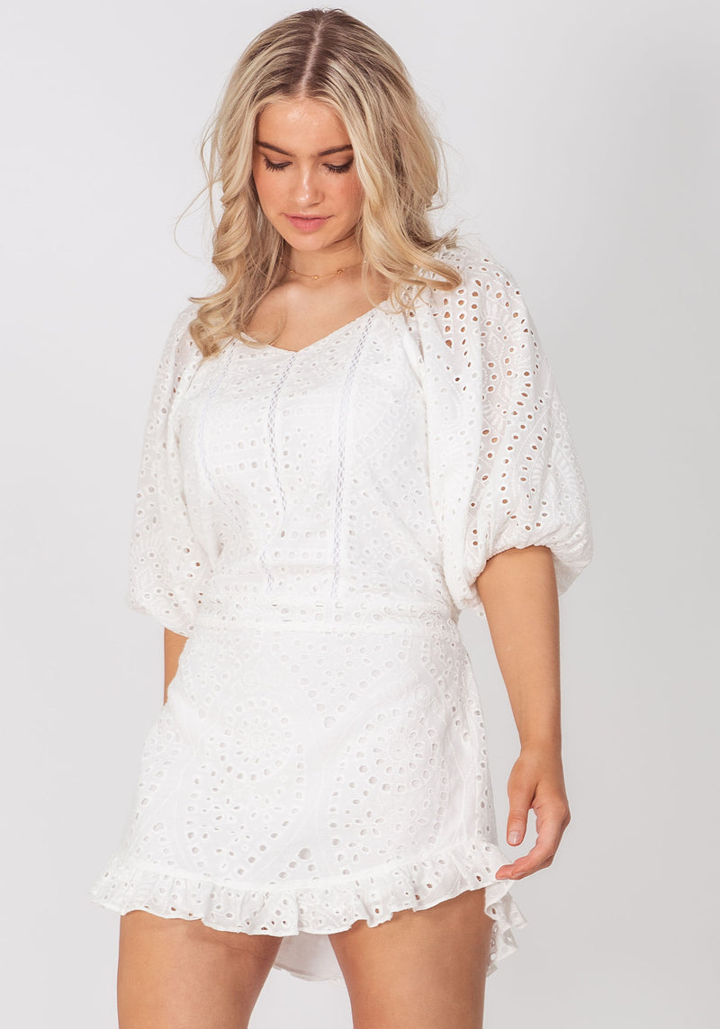 The Faithful White Party Dress by Three of Something Sydney Australia