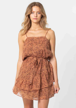 Fantasy Dress | Fantasy Brown Floral