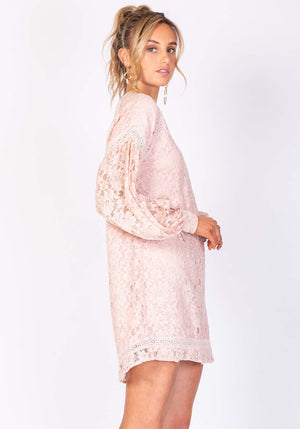 Firebird Lace Party Dress by Three of Something Sydney Australia