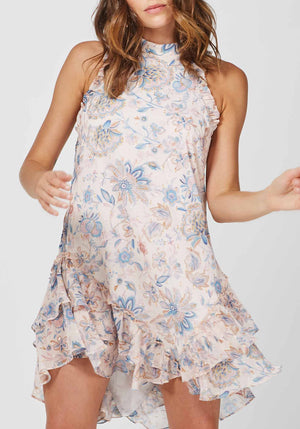 Friday Floral Effect Floral Party Dress by Three of Something Sydney Australia
